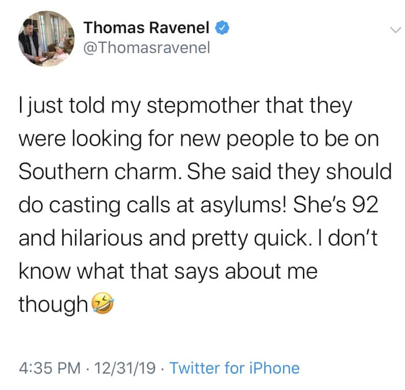Thomas Ravenel Throws Shade at Former Co-Stars Amid Southern Charm Casting Troubles