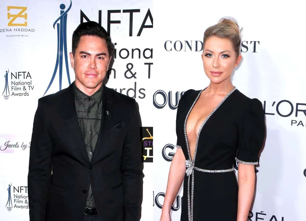 Vanderpump Rules' Tom Sandoval Responds to Backlash Over 'Ridiculous' and 'Egotistical' Behavior Towards Stassi Schroeder, Claims There Was 'Much More' Going on Than What Viewers Saw