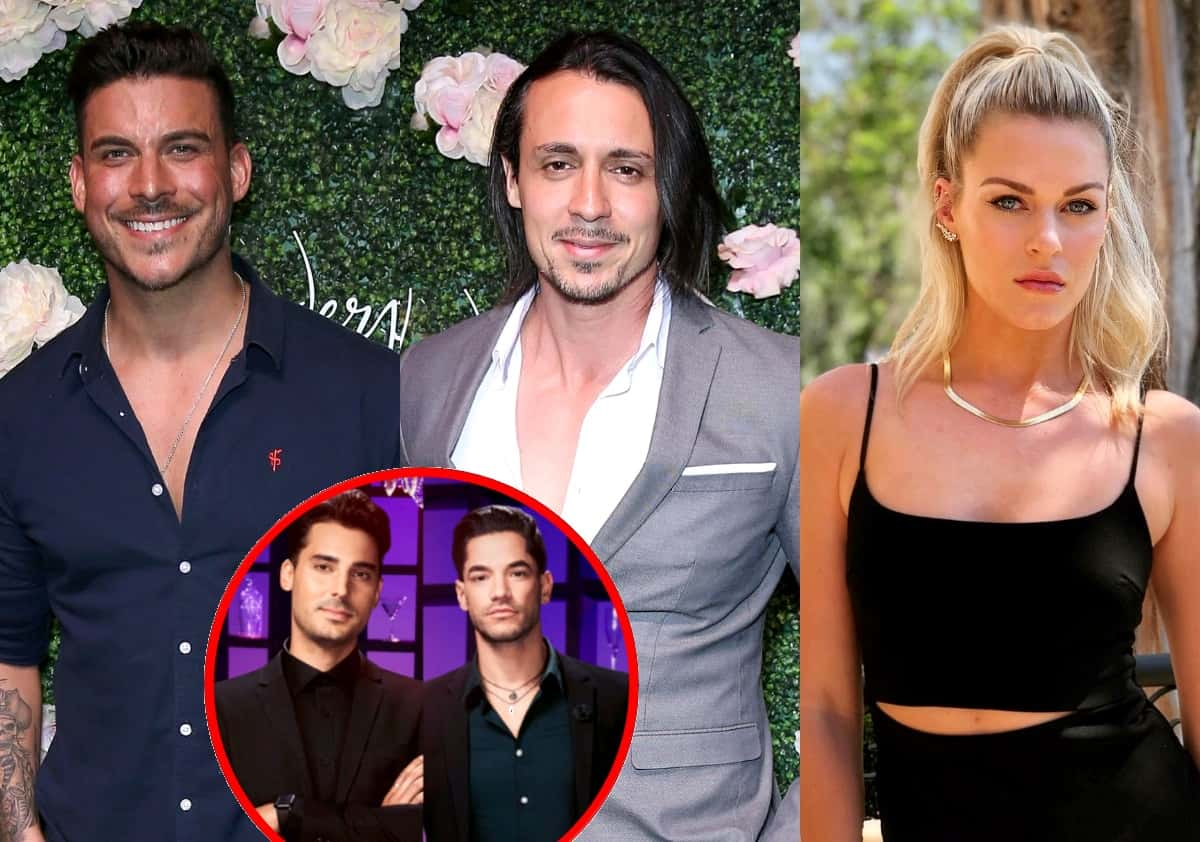 Vanderpump Rules' Jax Taylor Defends Peter Madrigal After Dayna Kathan Suggests He Lied About Hooking Up, Says Max Boyens and Brett Caprioni are 'Being Handled' for Racially-Charged Tweets