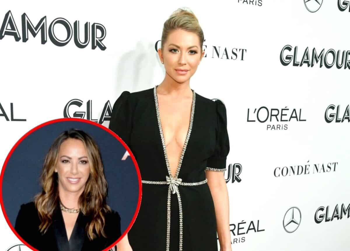 Vanderpump Rules' Stassi Schroeder Reveals if She's Spoken to Kristen Doute Since 'Mortifying' Twitter Feud, Offers Updates on Italy Wedding and Says She'll Take a Pay Cut to Bring This RHONY Star Back