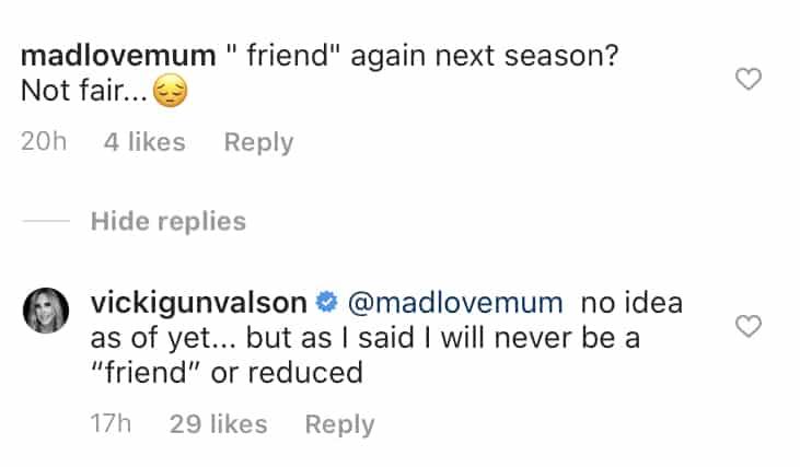 Vicki Gunvalson Confirms She Won't Return to RHOC as a Friend
