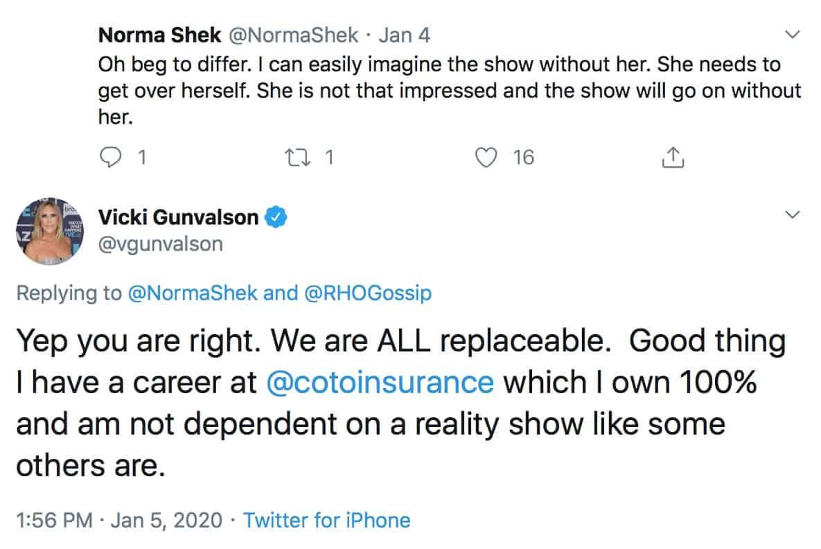 Vicki Gunvalson Says RHOC Cast is Replaceable