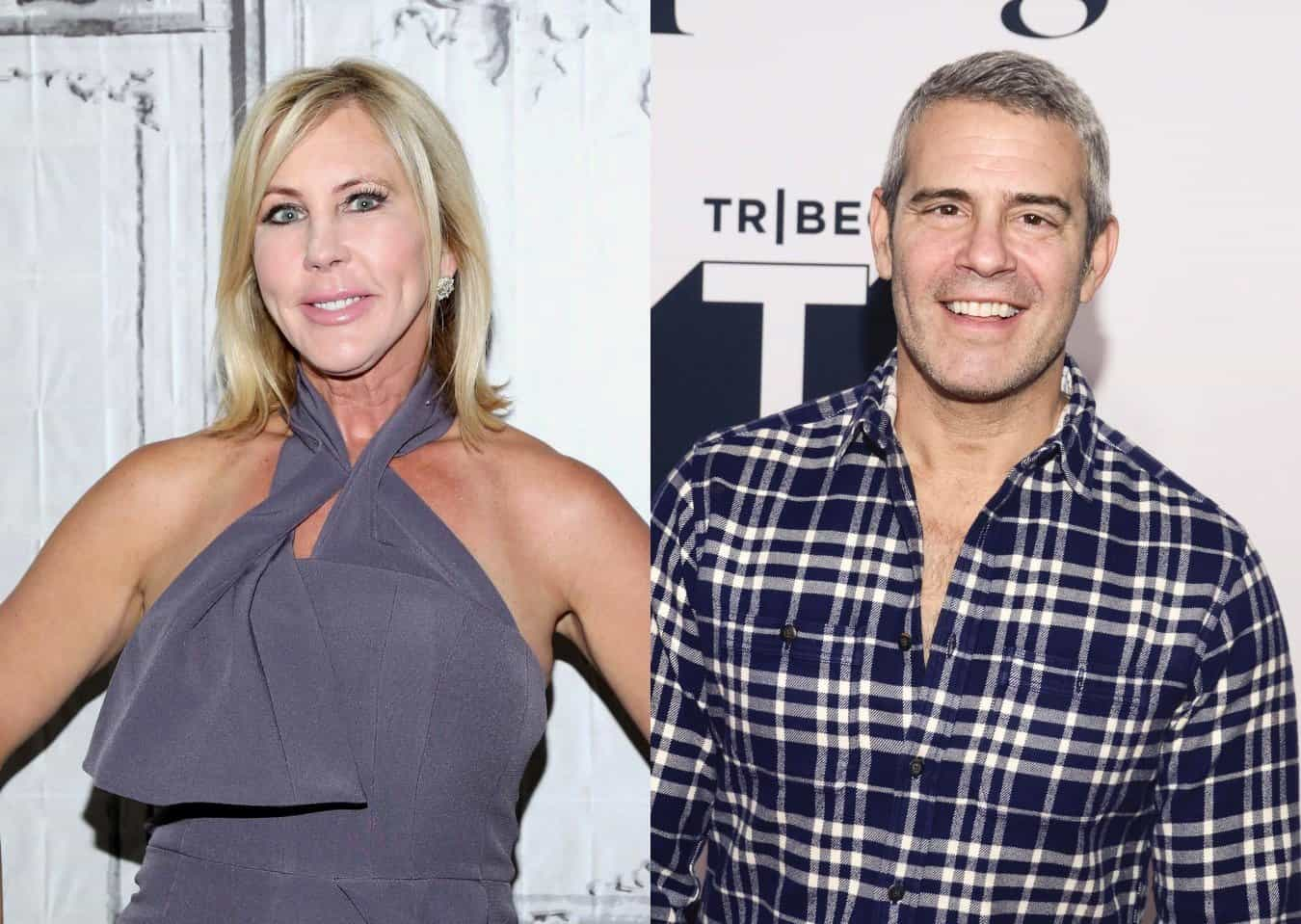 Vicki Gunvalson Disses Andy Cohen After Quitting RHOC, Shares Why She Left Show and Accuses Producers of 'Manipulating' Her