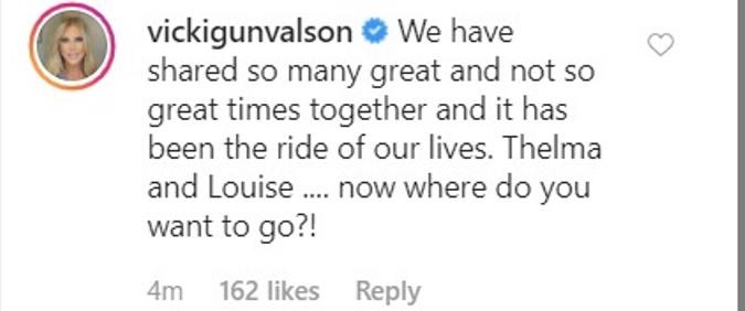 Vicki Gunvalson reacts to Tamra Judge Leaving RHOC