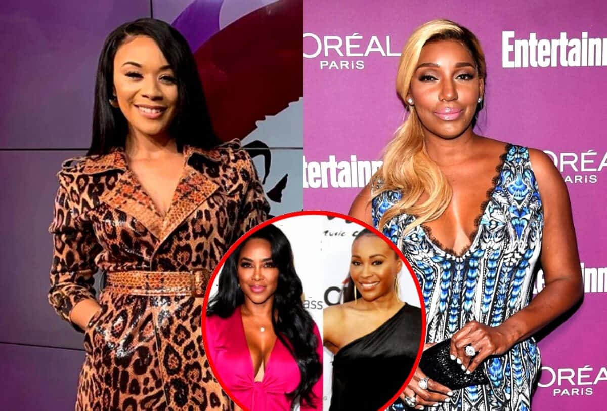 RHOA Star Yovanna Love Shades Nene Leakes and Denies Audio Exists as Kenya Moore and Nene Feud on Twitter