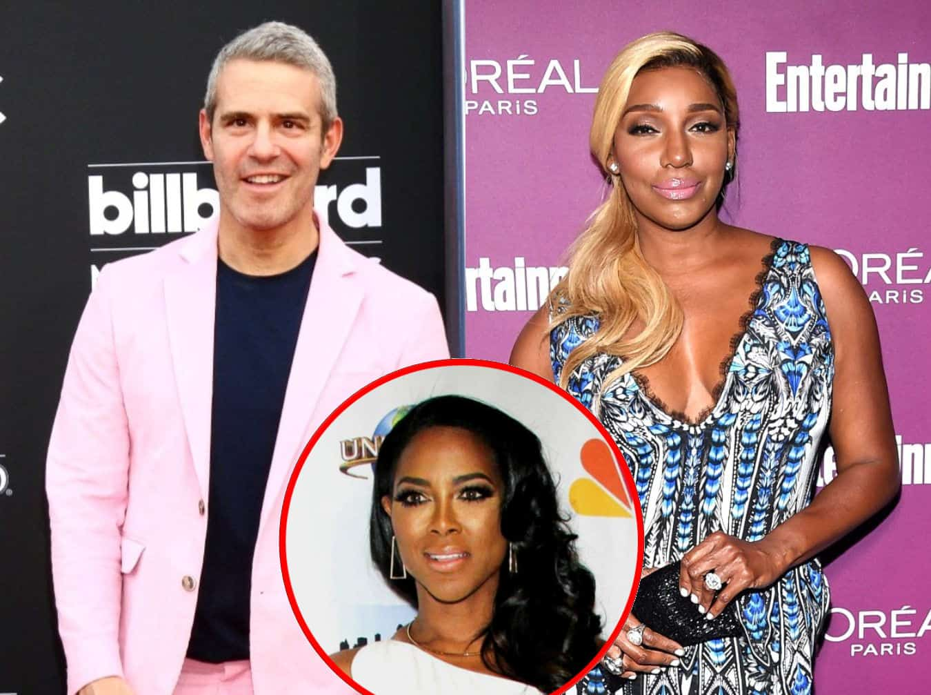 Andy Cohen Reacts to Claim That Nene Leakes is Being Phased Out of RHOA Made by Kenya as Nene Slams 'Shady' Co-Stars and Suggests They're Sabotaging Her
