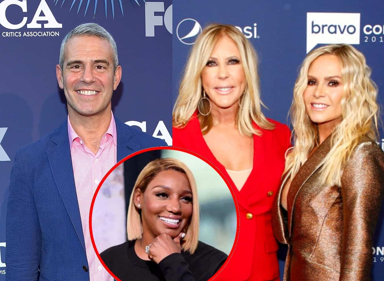 Bravo's Andy Cohen Reveals Real Reason Tamra Judge and Vicki Gunvalson Were Let Go From RHOC as He Denies it Had to Do With Age, Plus He Responds to Nene Leakes' Quitting Rumors