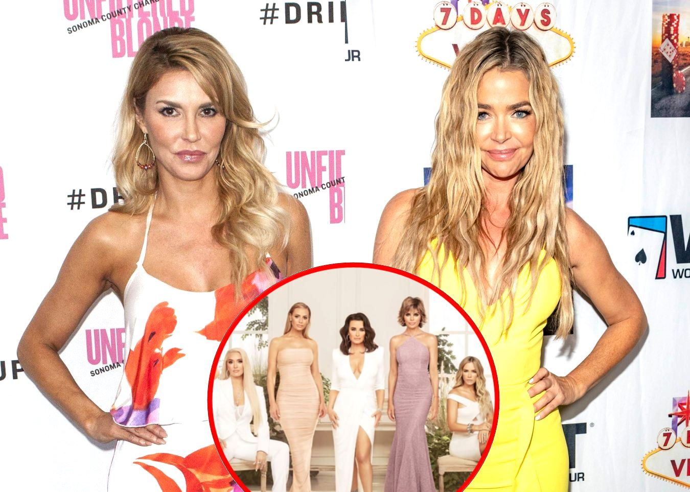 REPORT: Brandi Glanville Leaks Private Text Messages From Denise Richards to RHOBH Cast, Does Denise Have Any Friends Left on the Show?