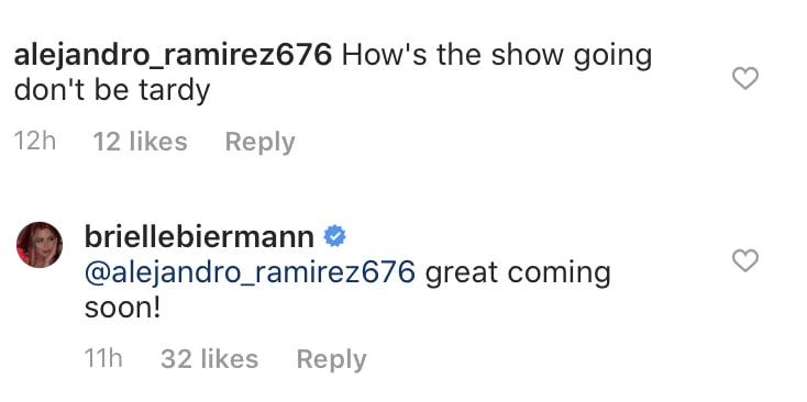 Brielle Biermann Teases Don't Be Tardy Season Eight