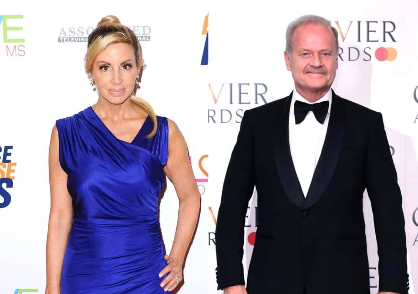 Is Camille Grammer Slamming Ex-Husband Kelsey Grammer for Not Paying Child Support? See the RHOBH Star's Tweet