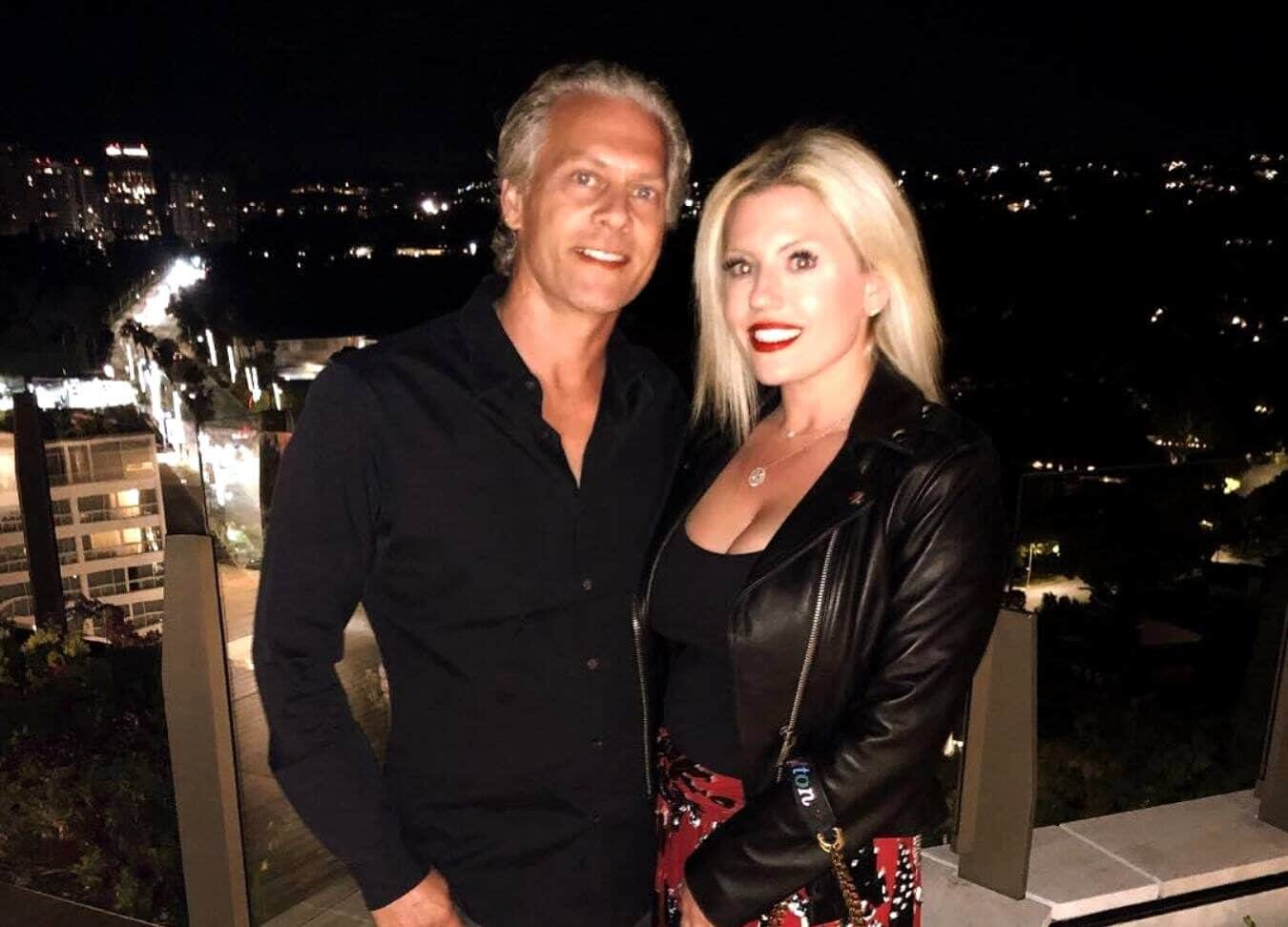 David Beador's Fiancee Lesley Cook Shares Baby Bump Photo and Reveals Wedding Plans With the Former RHOC Star