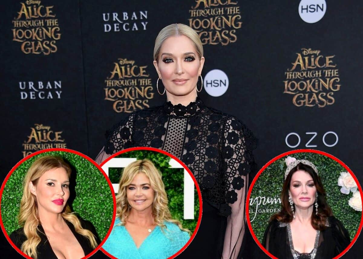 RHOBH's Erika Jayne Addresses the Brandi Glanville and Denise Richards Affair Rumors and Reveals if She Misses Lisa Vanderpump, Plus Find Out Who She's Closest to and if She and Tom Signed a Prenup