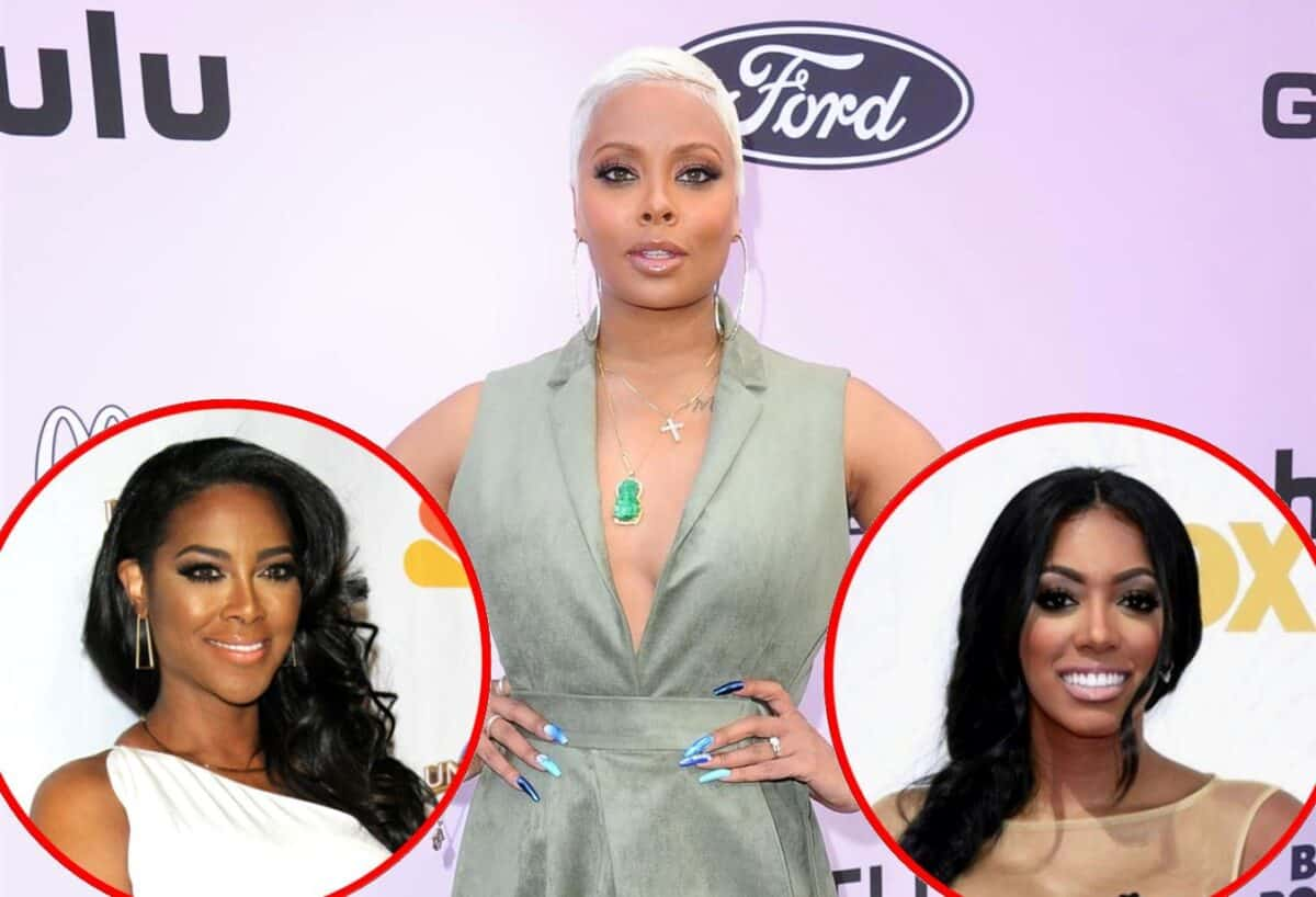 Eva Marcille Reveals Kenya Moore is the Most Genuine RHOA Costar Off-Camera and Explains Why, Plus She Talks Drama With Porsha Williams