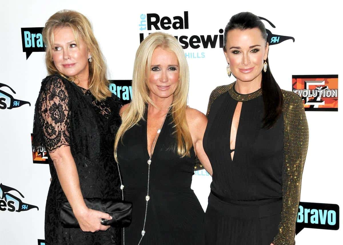"REPORT: RHOBH Star Kyle Richards and Kathy Hilton ""Worried"" Kim Richards Will Reveal Too Much in Her Book, Plus Kyle Speaks Out"