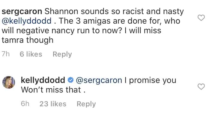 Kelly Dodd Says RHOC Fans Won't Miss Tamra Judge