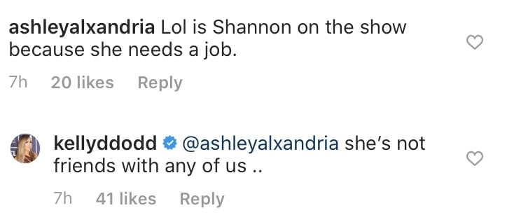 Kelly Dodd Says Shannon Beador is Not Friends With Anyone on RHOC