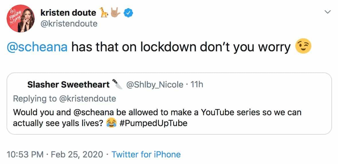 Vanderpump Rules Kristen Doute Teases YouTube Series With Scheana Marie
