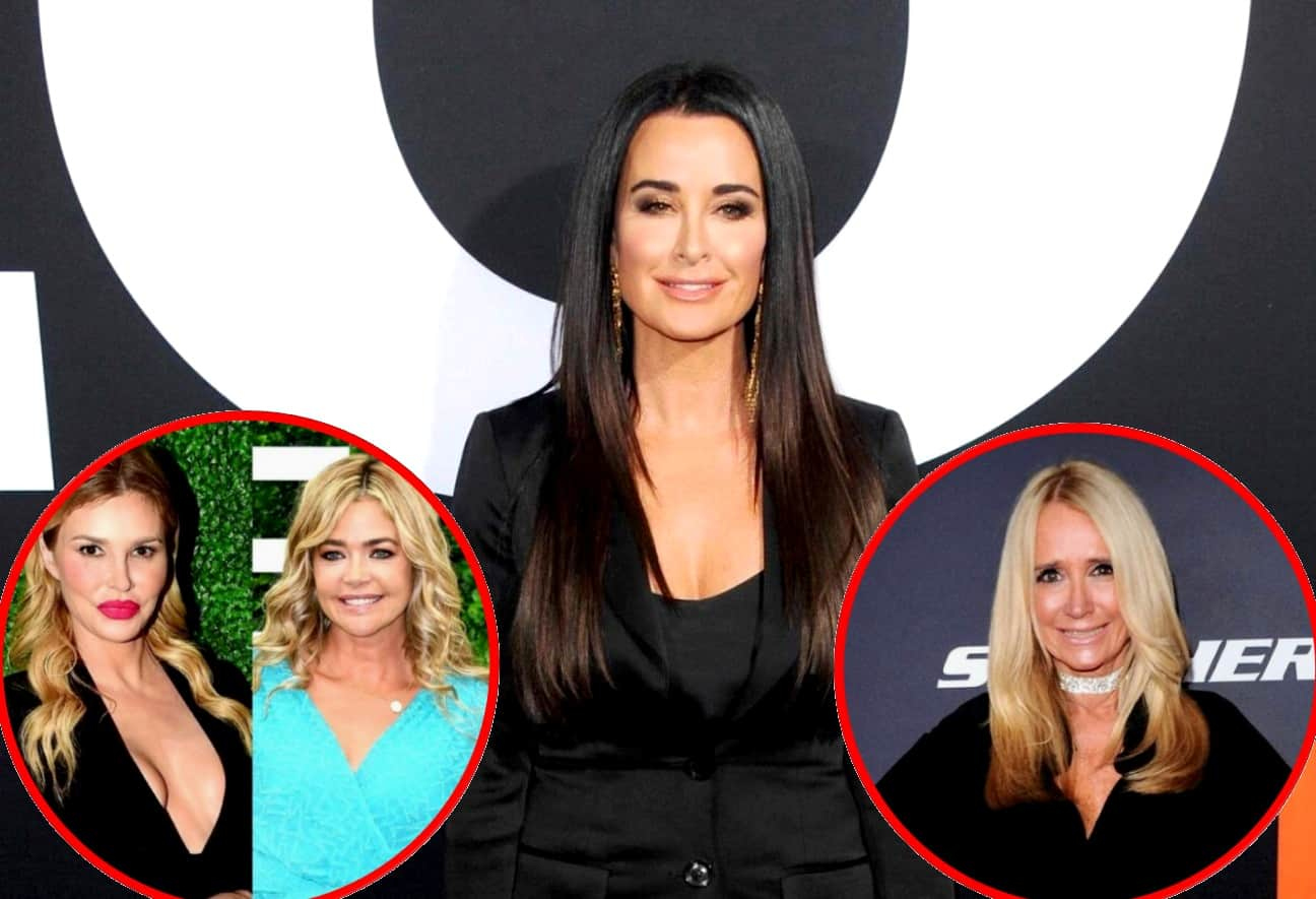 RHOBH's Kyle Richards Dishes on Denise Richards' Future on the Show and Offers Advice About How to Deal With Brandi Glanville Rumors, Plus Reacts to Sister Kim's Tell-All