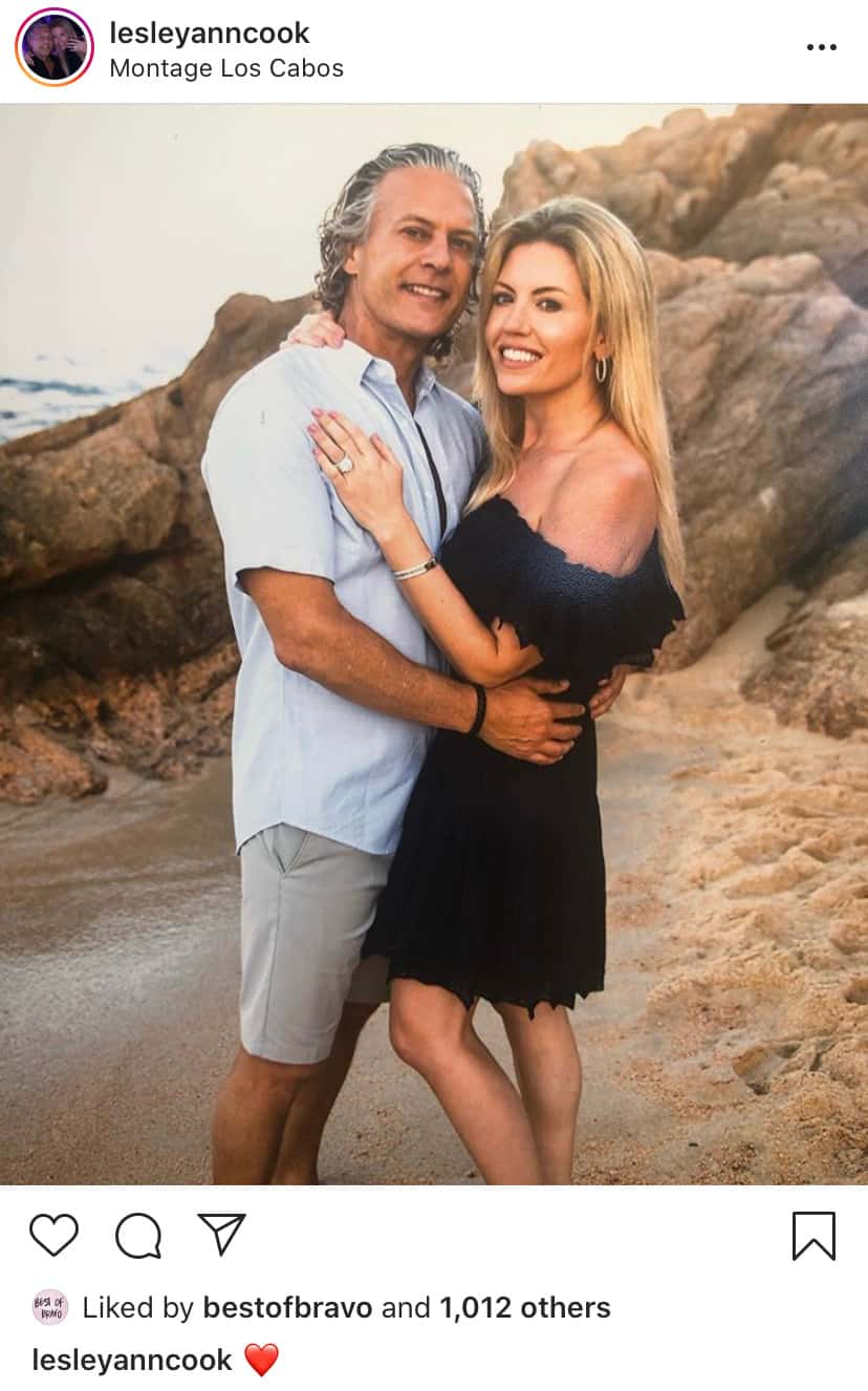 RHOC Lesley Cook and David Beador Vacation in Mexico