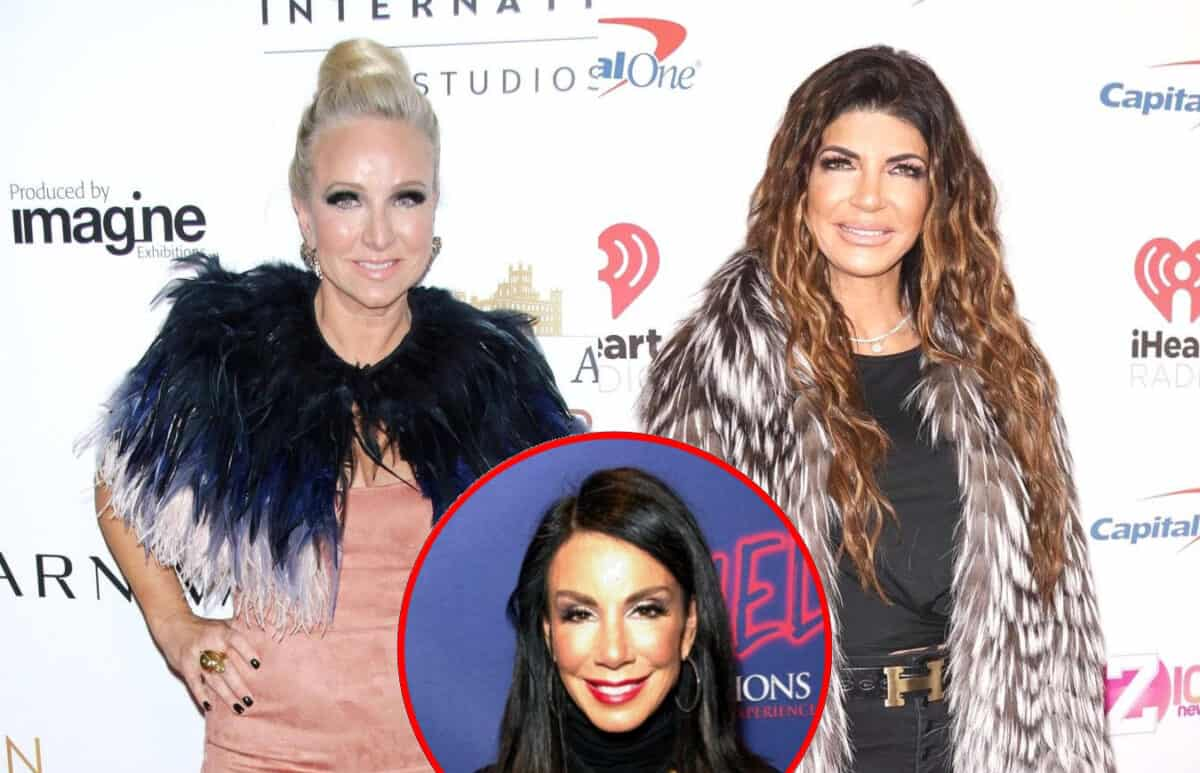 "RHONJ's Margaret Josephs Calls Teresa Giudice a ""F**king A**hole"" for Telling Danielle to Pull Her Hair, See Teresa Respond by Throwing Her Drink"