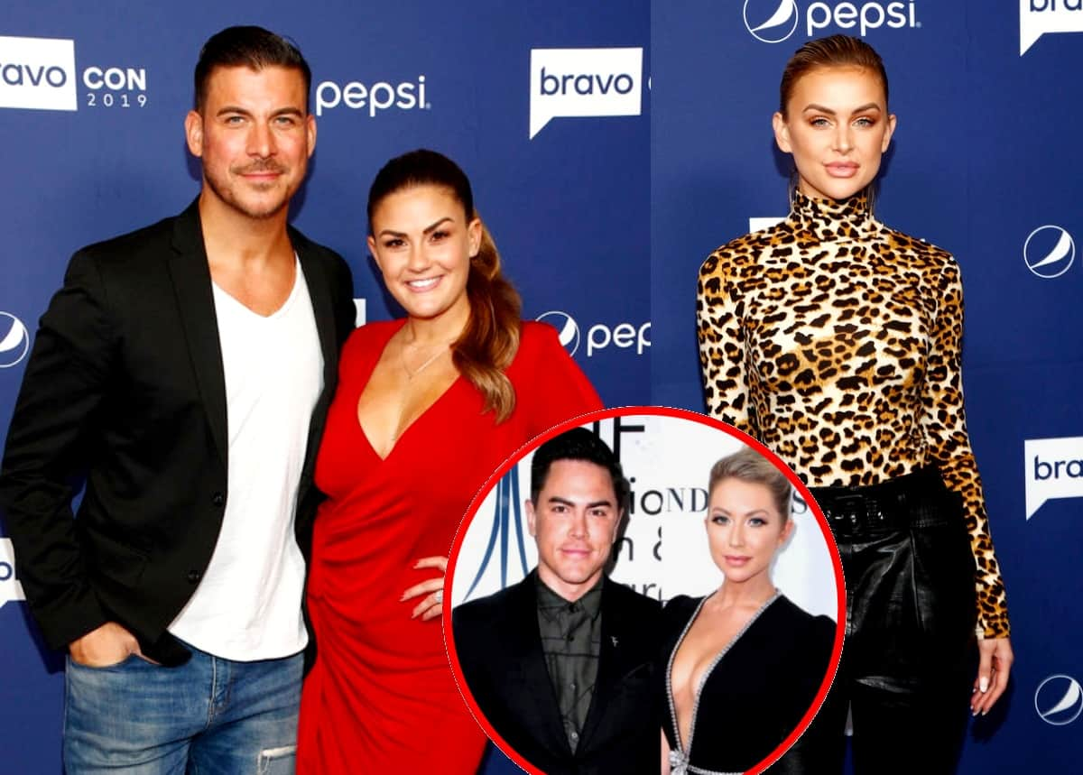 Vanderpump Rules' Jax Taylor and Brittany Cartwright Reveal What Wasn't Shown About Tom Sandoval and Stassi Schroeder Drama