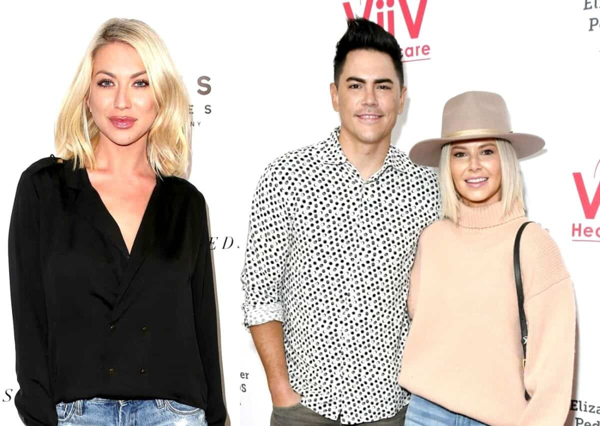 Does Stassi Schroeder Think Tom Sandoval is 'Jealous' of Her Book Success? Vanderpump Rules Star Reveals the Real Cause of Rage Text Plus Where She Stands With Ariana Madix