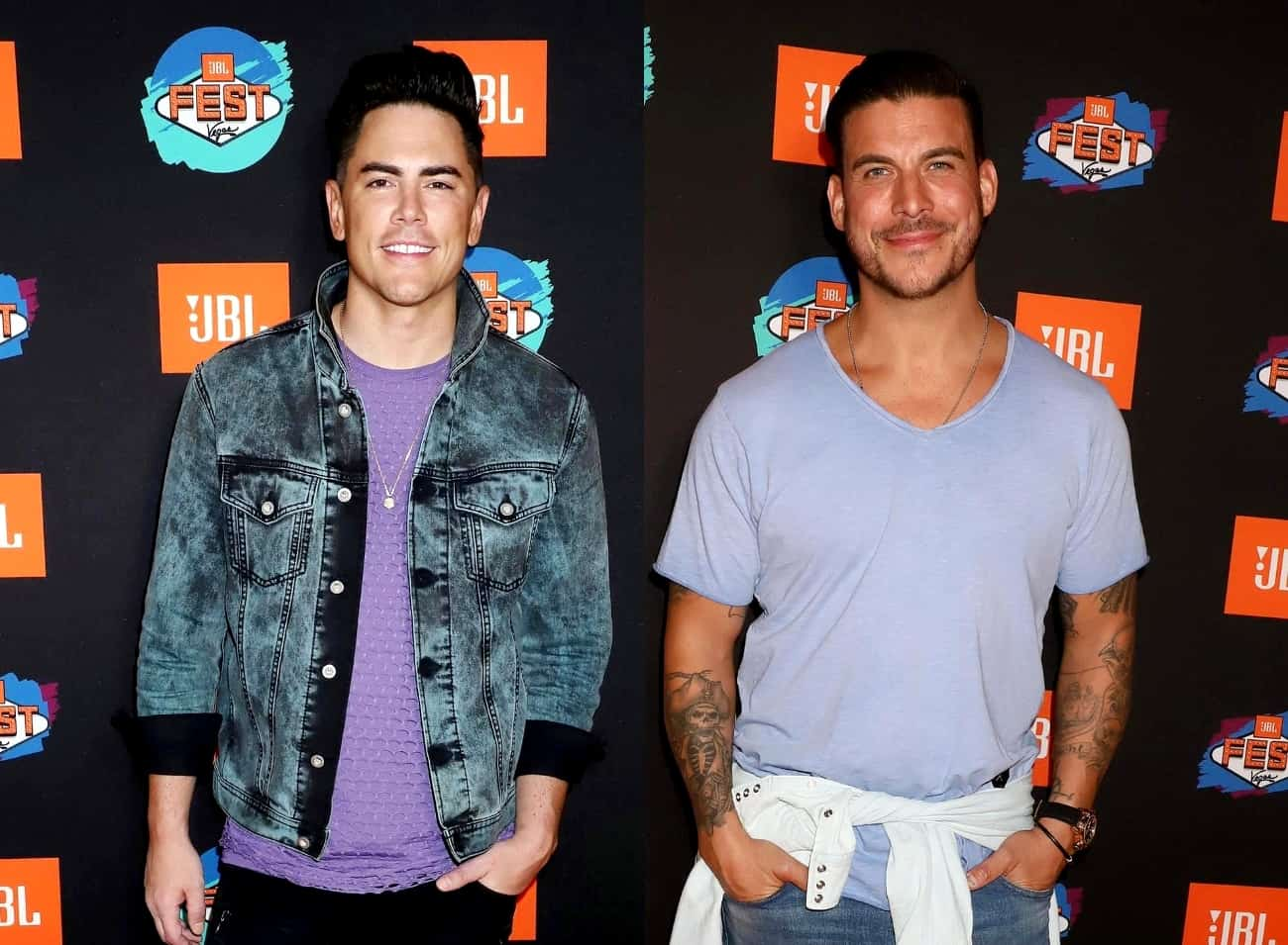 "Vanderpump Rules' Tom Sandoval Reacts to Jax Taylor's ""Angry"" Tweets, Claims He's ""Projecting"" and Questions If He's Truly a Changed Man"