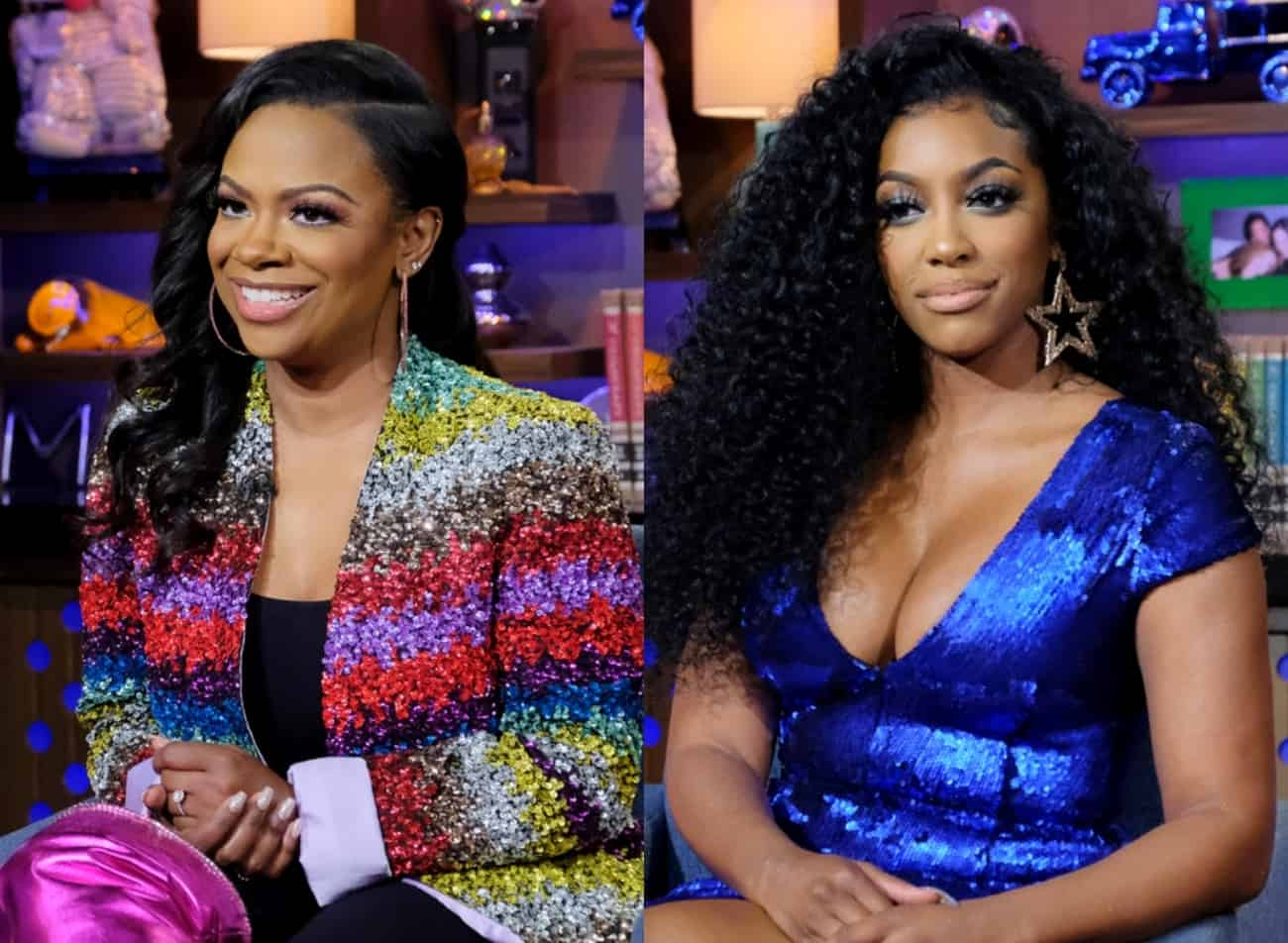 Kandi Burruss Says Bravo Deleted Scene of Her Confronting Porsha Williams on RHOA, Suggests Porsha Was Upset About Her Work With BLM as Porsha Defends Herself and Admits She Asked For Scene to Be Cut