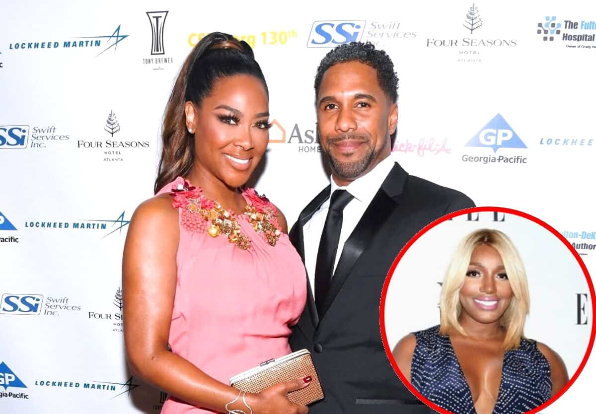 "RHOA Star Kenya Moore Slams Husband Marc Daly for ""Always Kissing Nene's A**,"" Plus Nene Speaks Out"