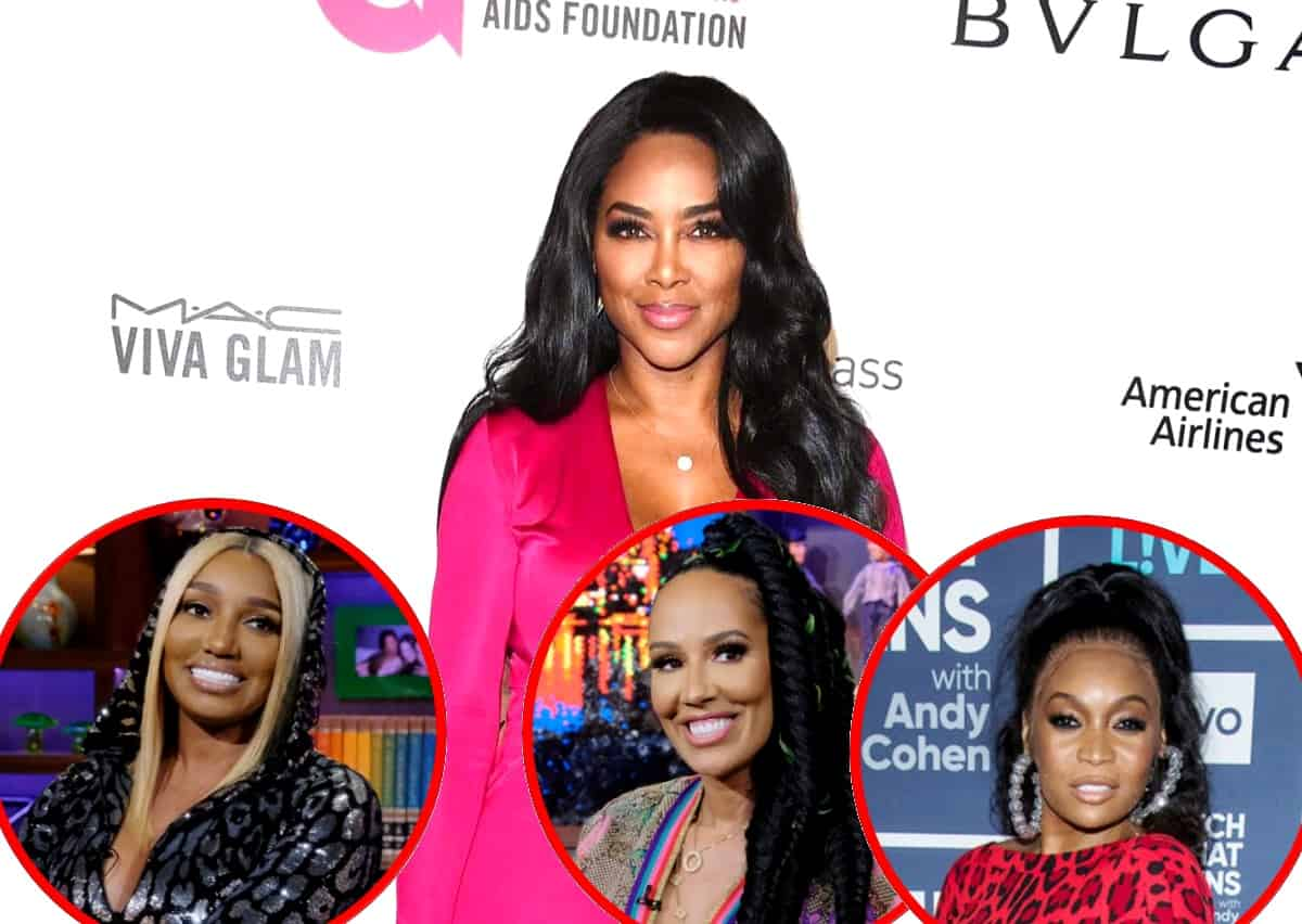 RHOA's Kenya Moore Claims Bravo is Trying to Phase Out Nene Leakes, Explains Why Marlo Will Never Get a Peach and Why Tanya Deserves One, Plus She Accuses Nene of Lying About 'Snakegate' Audio