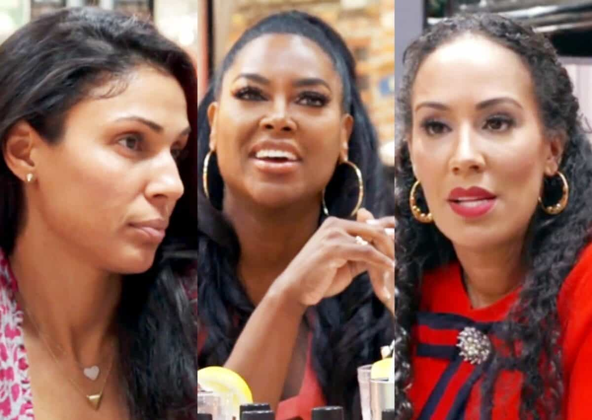 RHOA Recap: Kenya Brings The Cookie Lady To Lunch To Confront Tanya About The Cheating Rumors!