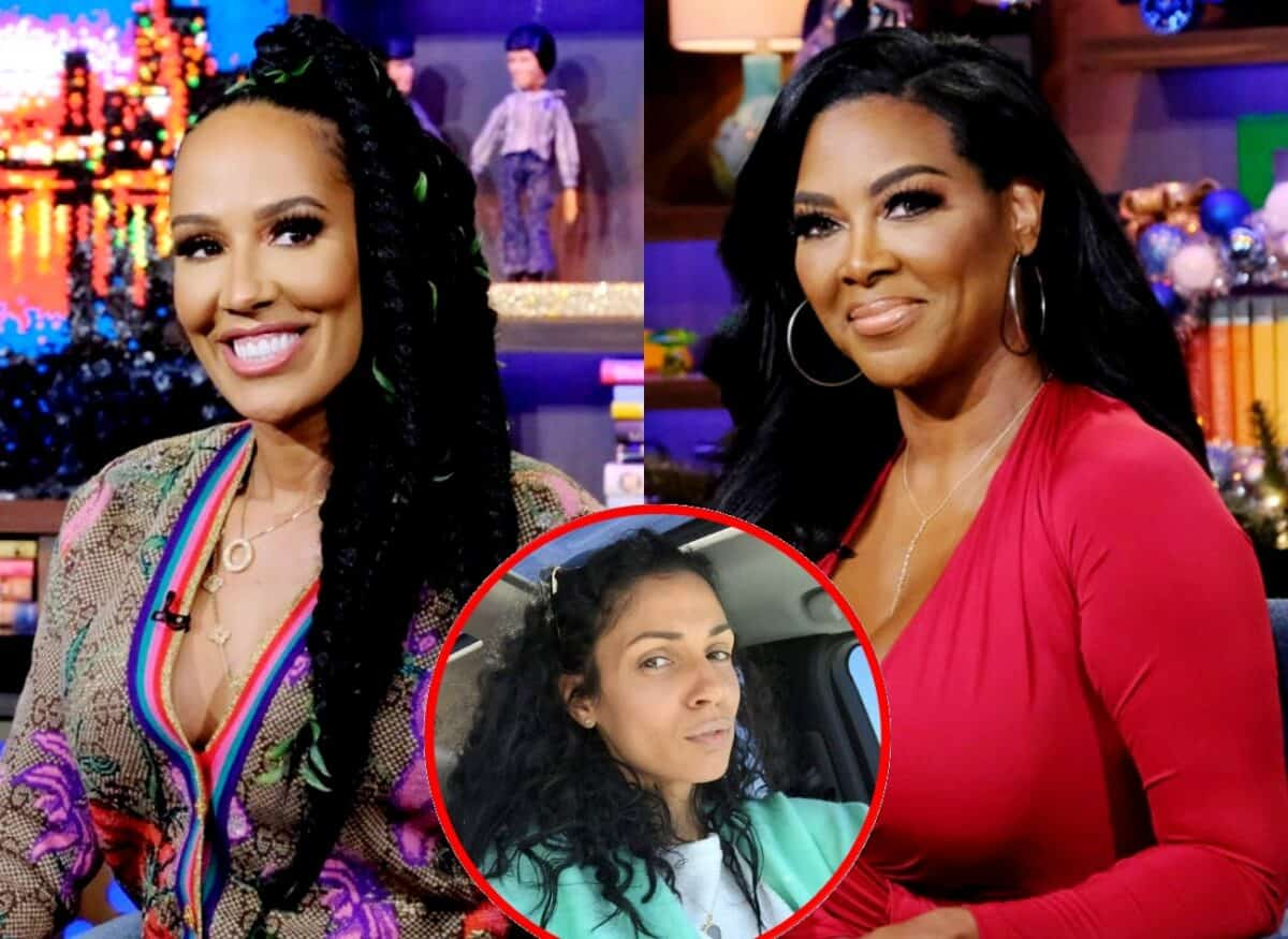 RHOA's Kenya Moore Reveals What Wasn't Shown During Showdown With Tanya Sam, Plus Tanya Shares Kenya's Low Blow Comment and the Cookie Lady Shiana Speaks Out