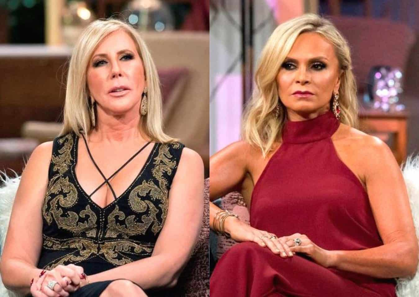 REPORT: Vicki Gunvalson and Tamra Judge are 'Banned' From Returning to Television Until Next Year After RHOC Departures, Find Out Why