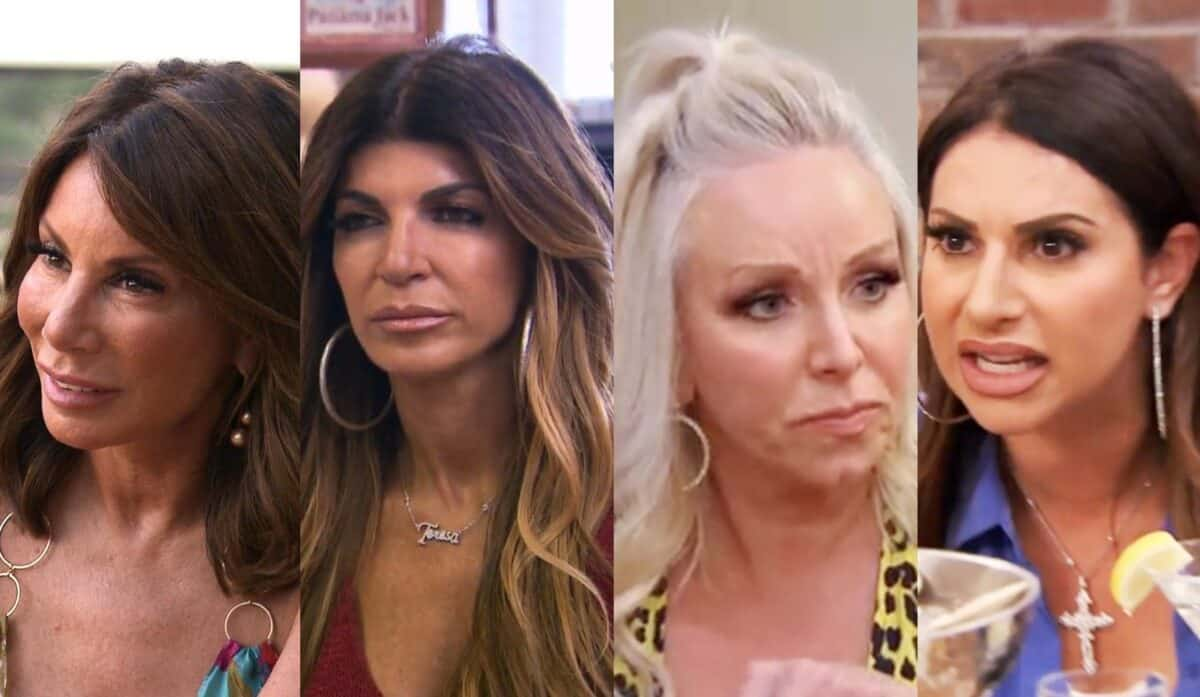 RHONJ Recap: Danielle Reveals Teresa Was Behind Hair Pull! Margaret Storms Out of Dinner After Argument with Jennifer