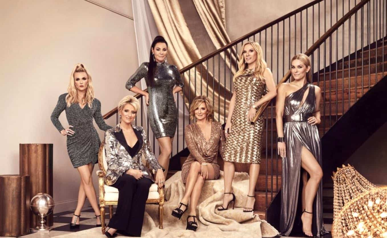 REPORT: Filming On RHONY Forced To Shut Down After Cast Member Tests Positive For COVID-19, Plus Ramona Singer Continues To Battle Leah McSweeney As Luann De Lesseps Struggles To Find A Storyline