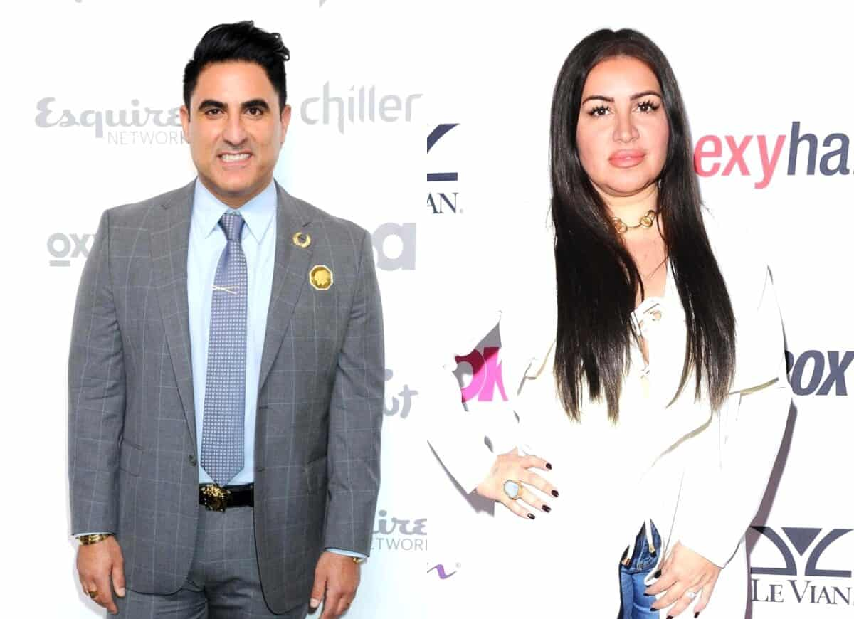 """Shahs of Sunset's Reza Farahan Discusses """"Awkward"""" Run-In With MJ Javid at BravoCon and Slams Her for Failing to Thank Him for Baby Gift, Plus His Status With Adam"""