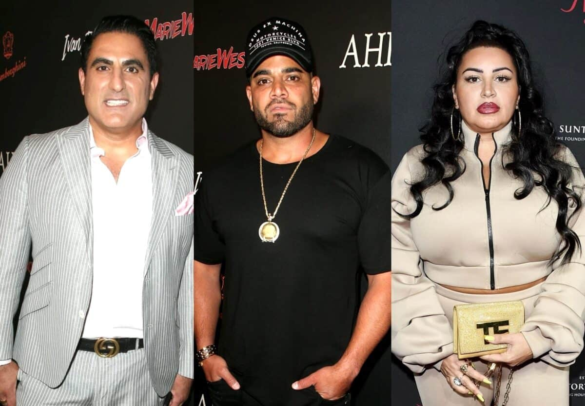 Shahs of Sunset's Reza Farahan Slams Mike Shouhed for Seemingly Siding With Mercedes 'MJ' Javid as MJ Shares Post About Reza's 'Toxic Marriage'
