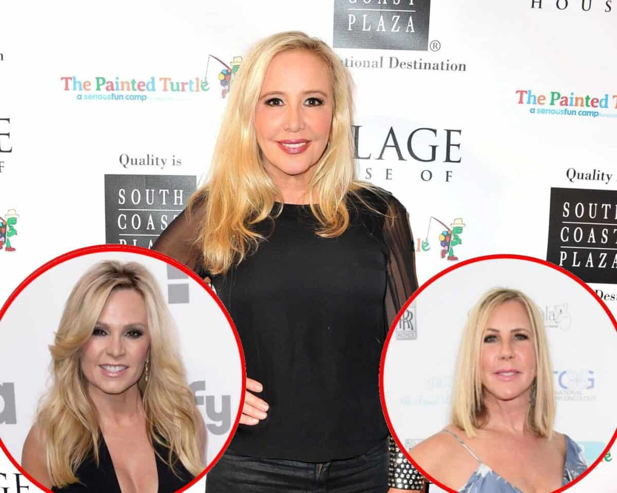REPORT: RHOC's Shannon Beador is 'Nervous' About Filming Season 15 Without Vicki Gunvalson and Tamra Judge as the Returning Cast Prepares to Welcome 'New Faces'