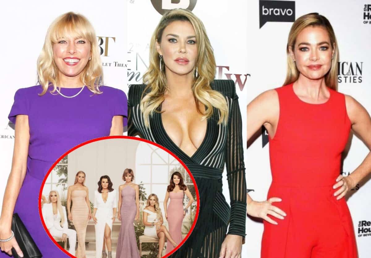 RHOBH's Sutton Stracke Says She Heard Hookup Rumors About Denise Richards and Brandi Glanville a Year Before Joining Show, Shares Which Costar Was Hard to Get to Know, Plus Does the Cast Miss Lisa Vanderpump?
