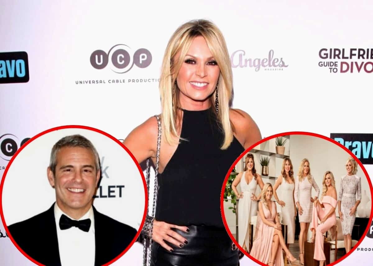 Tamra Judge Reveals Her RHOC Salary! Says Andy Cohen Told Her She'll Be Back Next Year and Admits to Selling Home After Exit From Show, Plus Does She Think Show Can Survive Without Her?