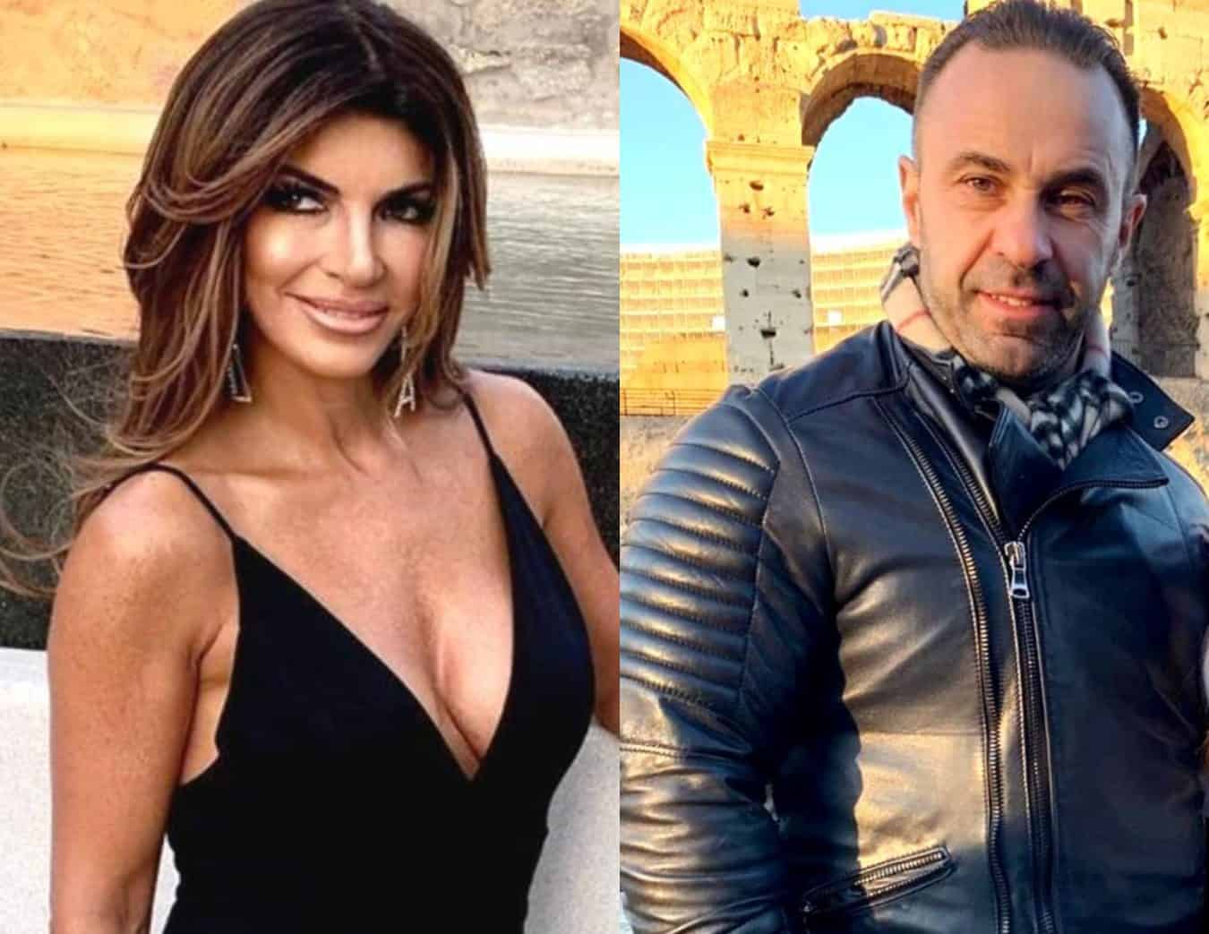 "RHONJ Star Teresa Giudice Reacts After Joe Giudice Posts Video of Dancing Girls in Bikinis, Plus Why Joe's Daughters Have ""No Plans"" to Visit Him"