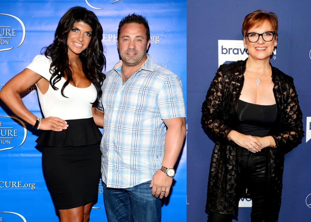 RHONJ Joe Giudice Reacts to Wife Teresa Giudice's Super Bowl Ad With Ex-Bravo Housewife Caroline Manzo