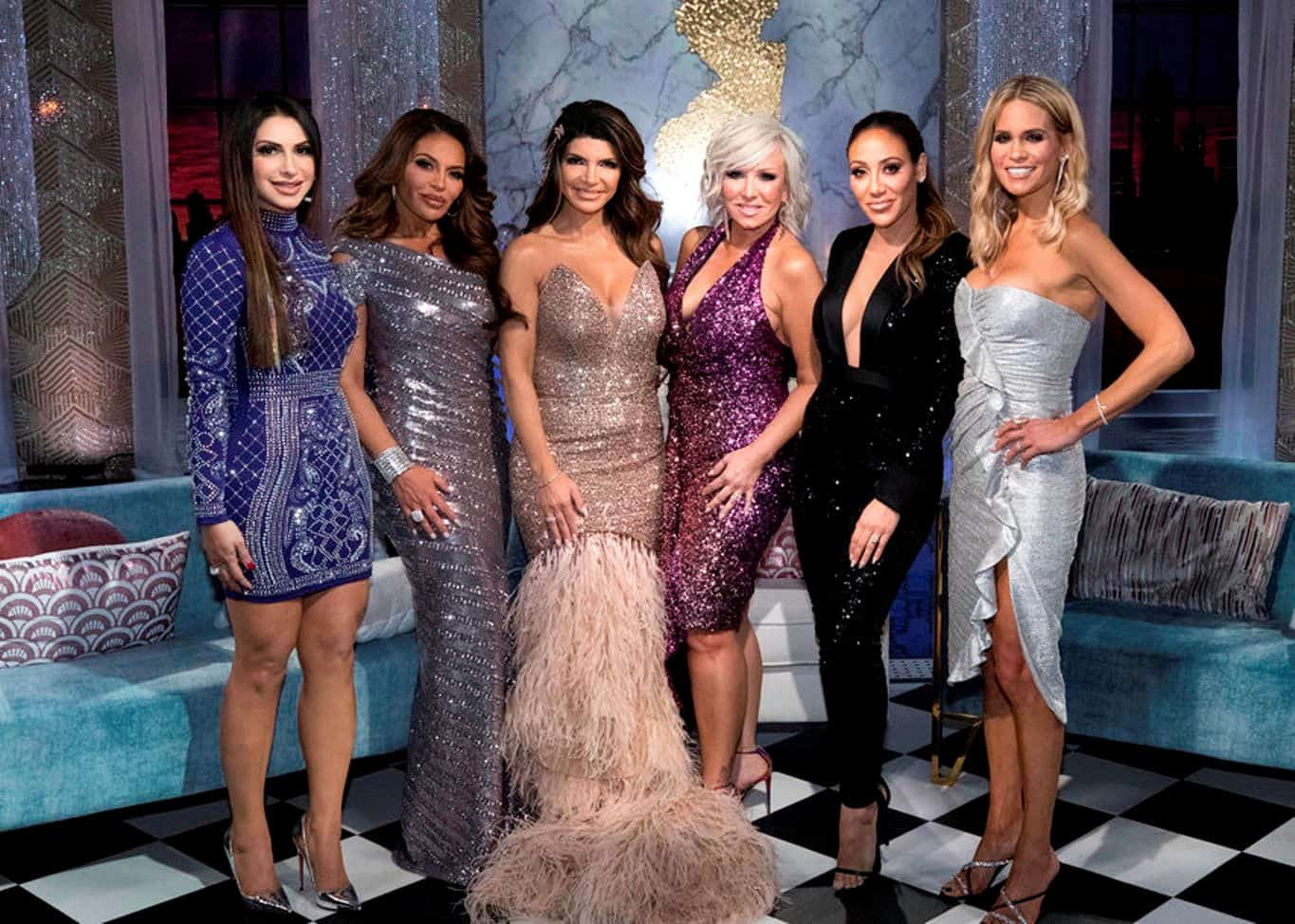 VIDEO: Watch the 'RHONJ' Reunion Trailer! Teresa is Confronted by Margaret and Danielle Refuses to Appear on Stage, Plus Dolores Hints at Relationship Trouble