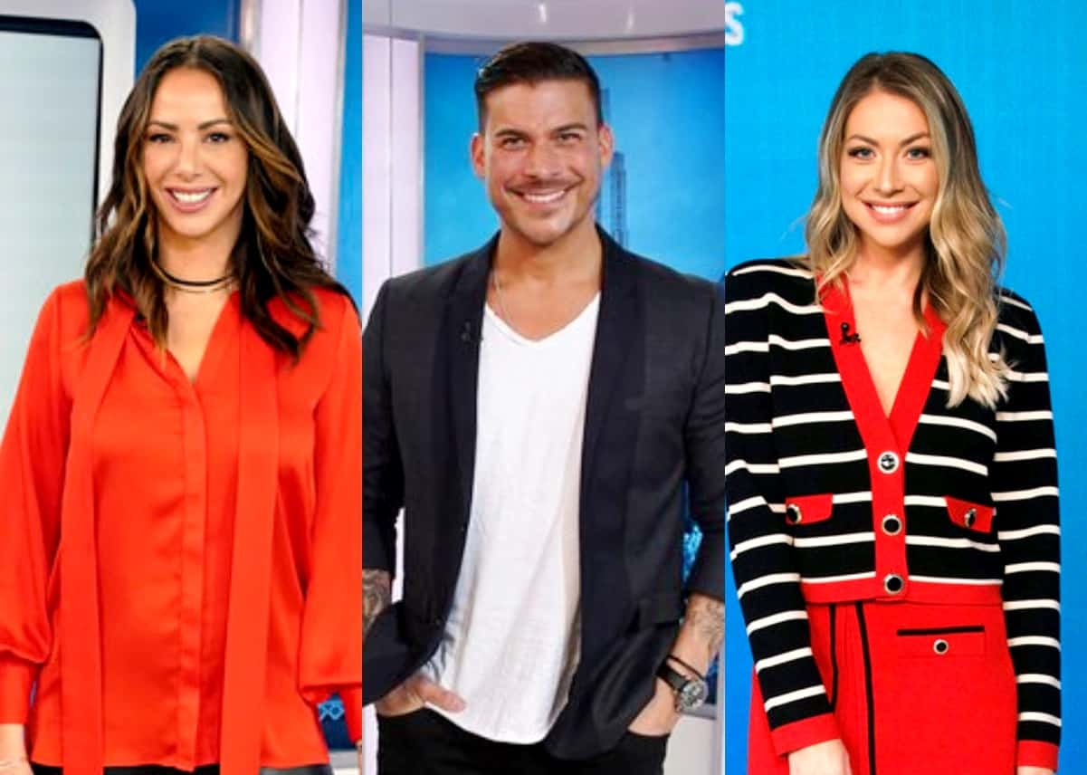Vanderpump Rules' Kristen Doute and Jax Taylor React After Stassi Schroeder Confirms She's Having a Girl, Plus Other Bravolebrities Weigh in on Her First Baby Bump Photo
