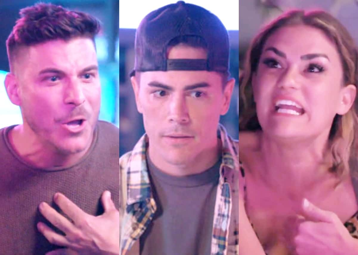 Vanderpump Rules Recap: Jax and Brittany Explode on Tom After He Questions Them About Their Controversial Pastor