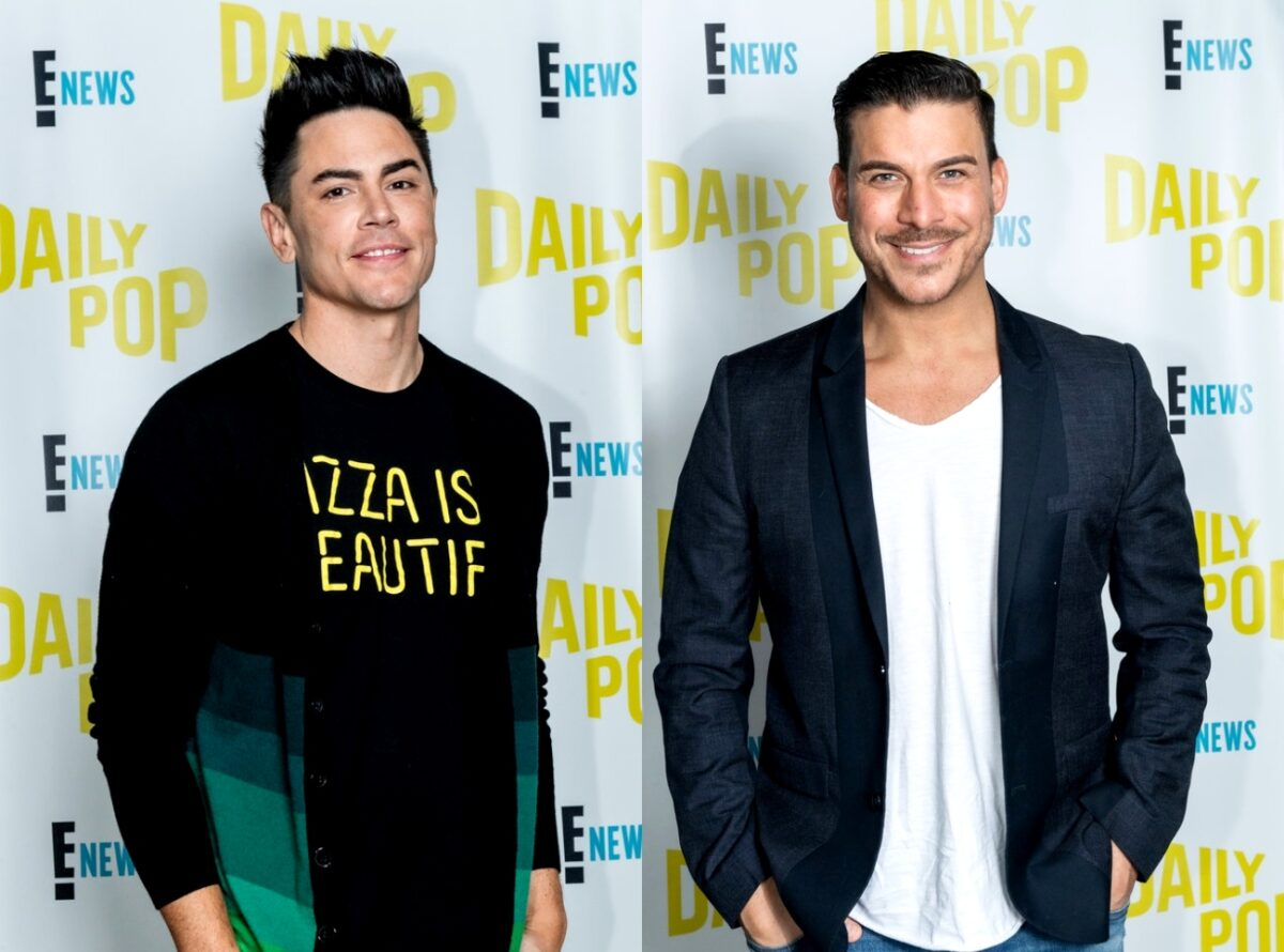 Vanderpump Rules' Tom Sandoval Reacts After Jax Taylor Claims He Regrets Having Him as a Best Man in His Wedding, Plans to Open a 'Really Seedy' Dive Bar With Tom Schwartz