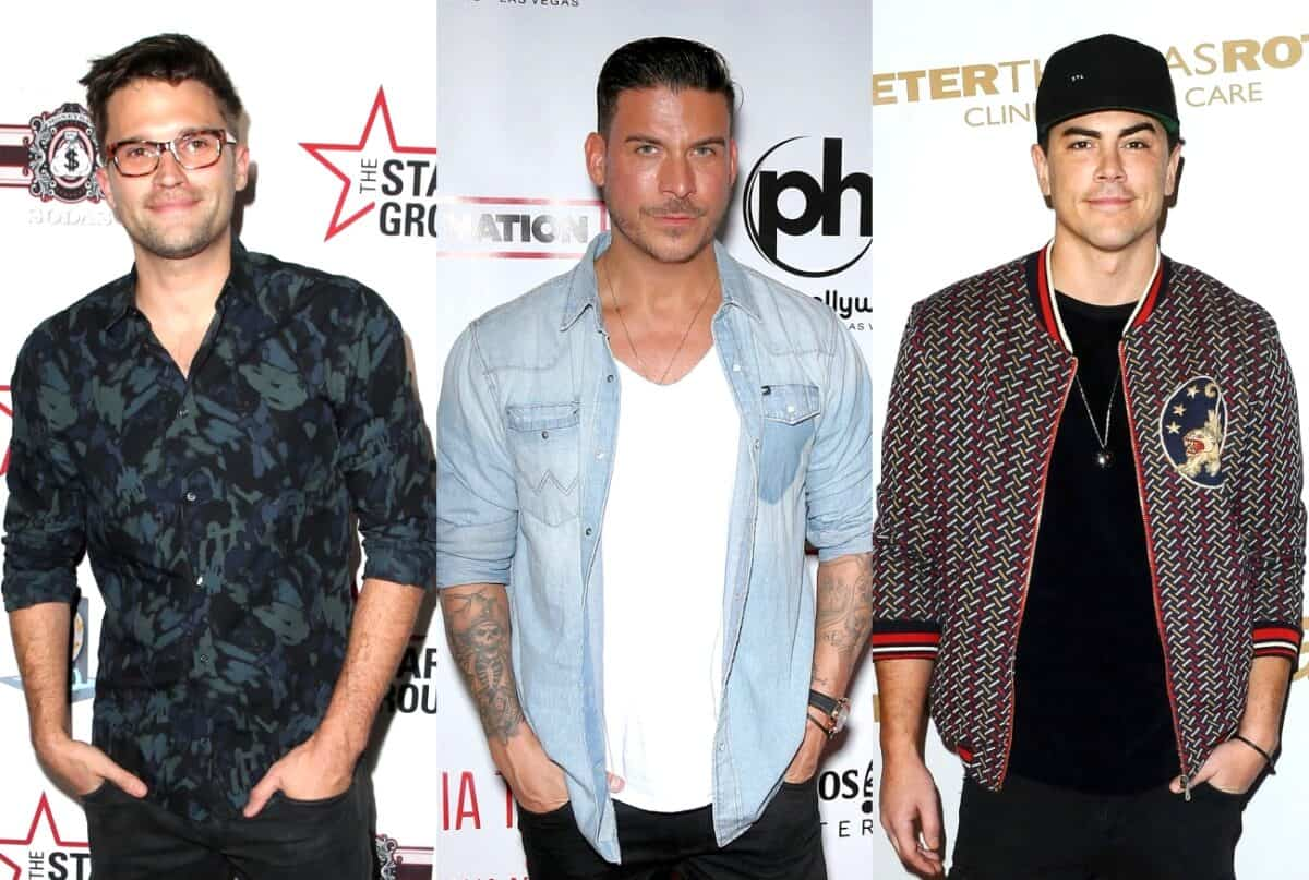"anderpump Rules' Tom Schwartz Feels Like a ""Child of Divorce"" Amid Jax Taylor and Tom Sandoval's ""Most Intense"" Feud Yet, Reveals He's Tried to Mediate"