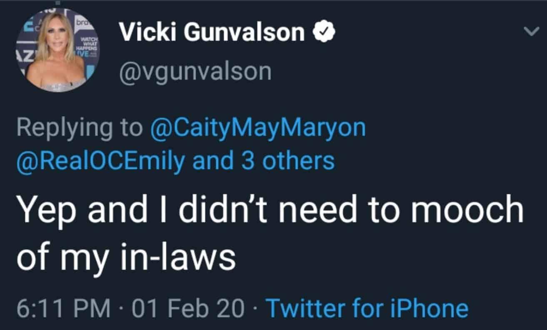 RHOC Vicki Gunvalson Accuses Emily Simpson of Mooching Off Husband's Family