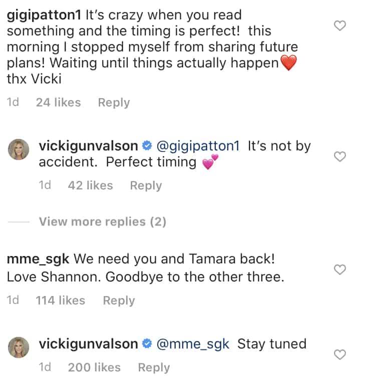 Vicki Gunvalson Teases Potential RHOC Spinoff on Instagram