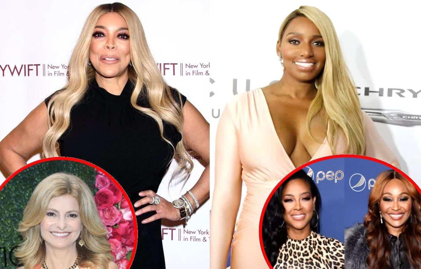 Wendy Williams Reveals the Real Reason Nene Leakes Hired Attorney Lisa Bloom as Nene Slams RHOA Co-Stars Kenya and Cynthia as Bullies